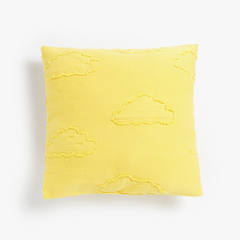 CLOUDS DESIGN COTTON CUSHION COVER