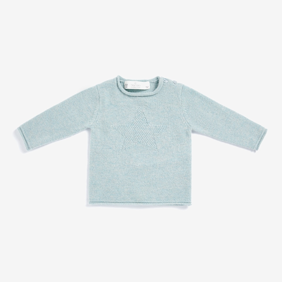 CASHMERE STAR SWEATER