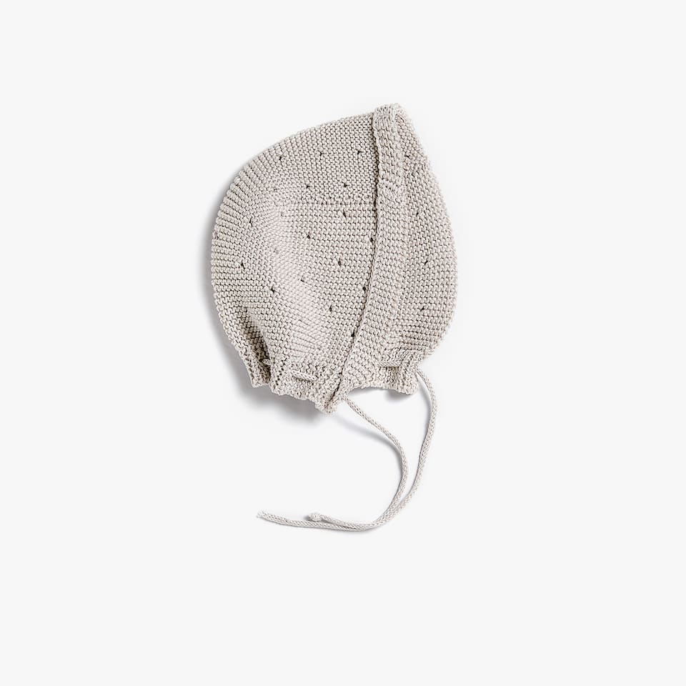 PURL KNIT HAT