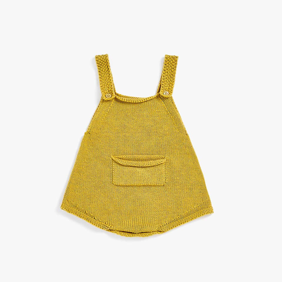 COTTON KNIT ROMPER SUIT