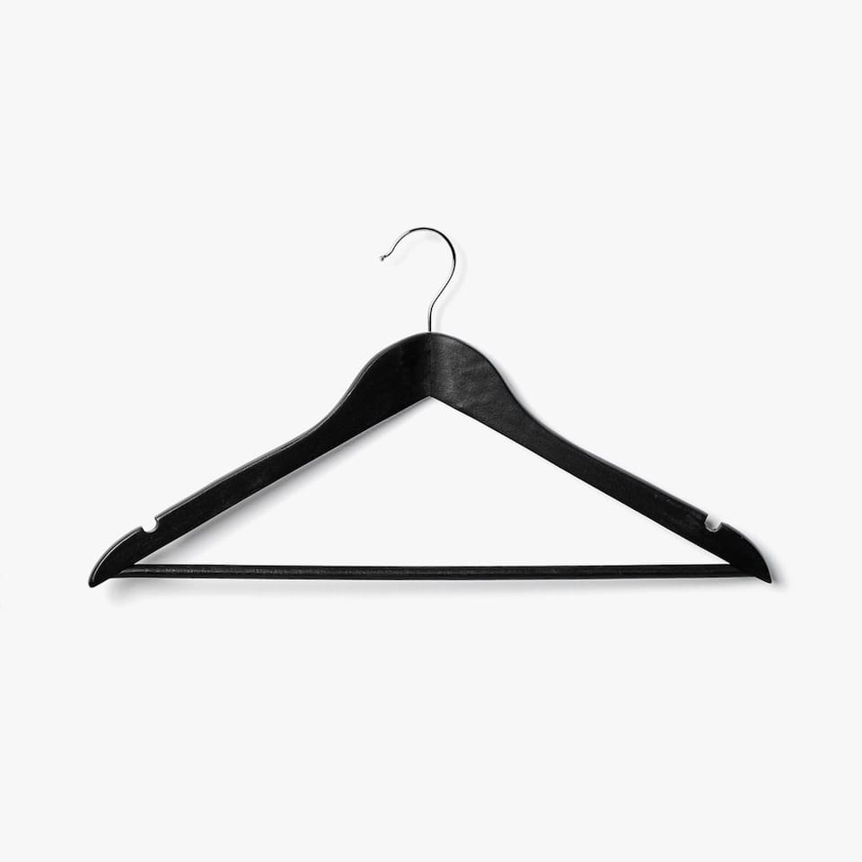 LACQUERED WOODEN HANGER (SET OF 3)