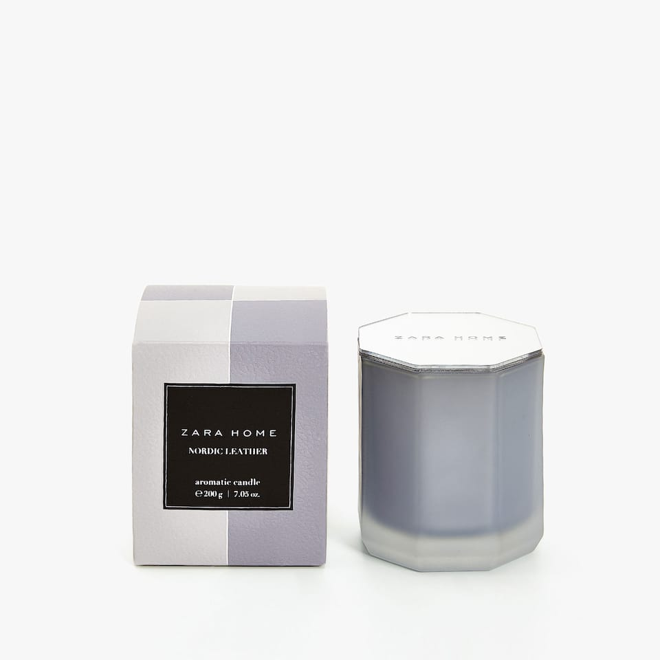 NORDIC LEATHER AROMATIC CANDLE