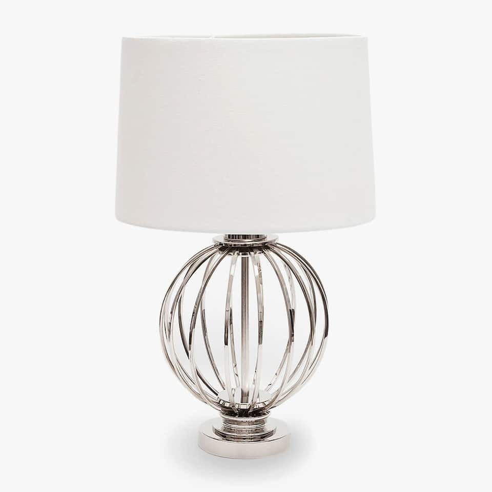 LAMP WITH SPHERICAL BASE