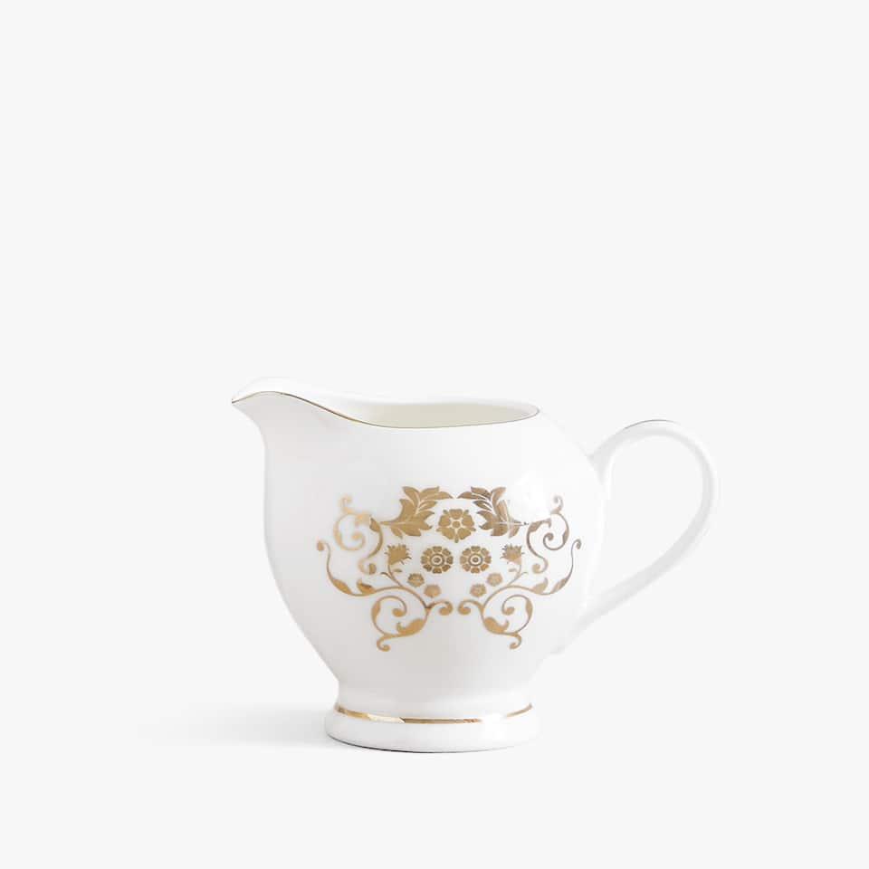 Gold transfer milk jug
