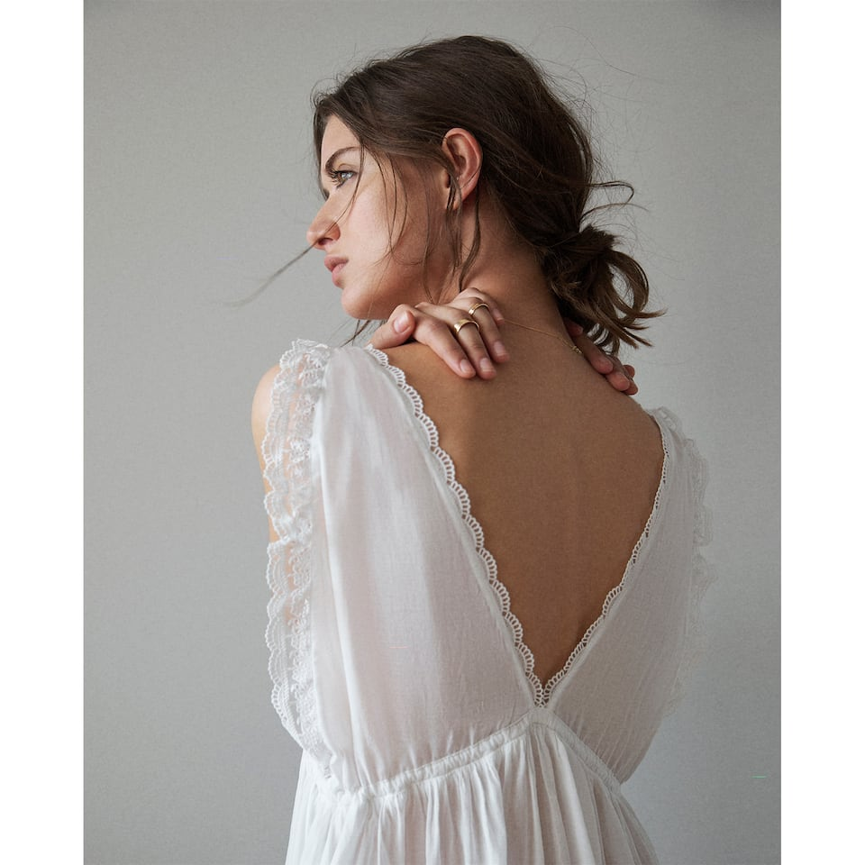 EMPIRE WAIST NIGHTGOWN