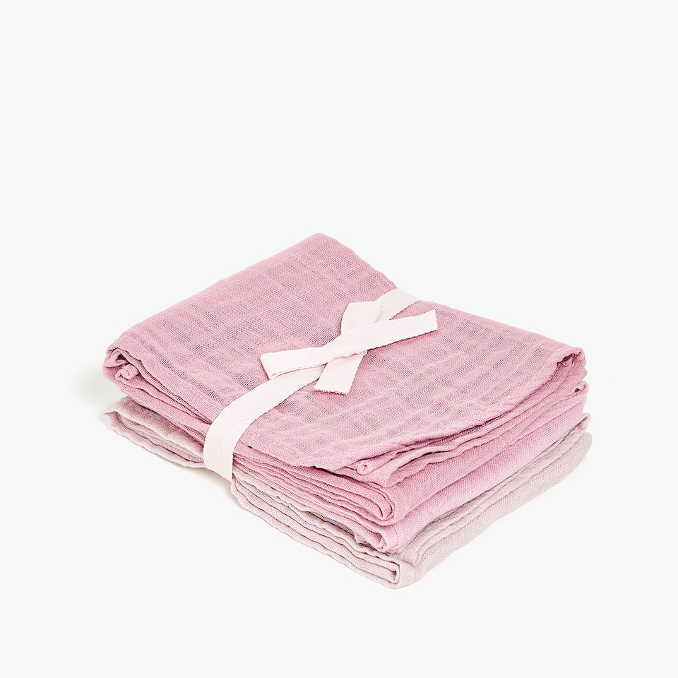 PLAIN MUSLIN (SET OF 3)