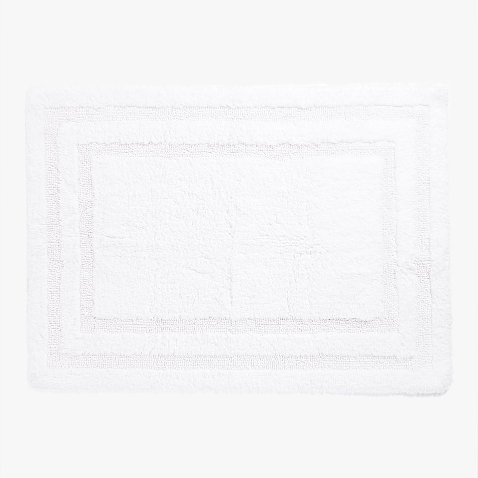 RAISED FRAME DESIGN BATH MAT