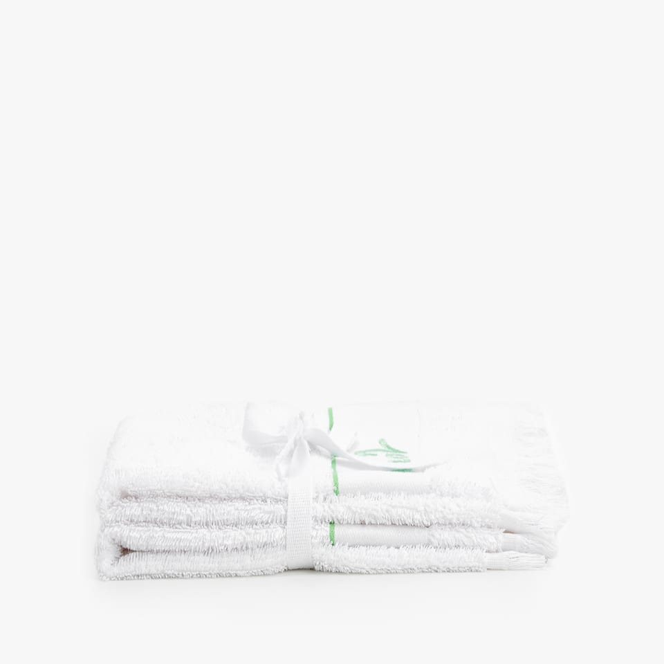 EMBROIDERED TOWEL (SET OF 2)