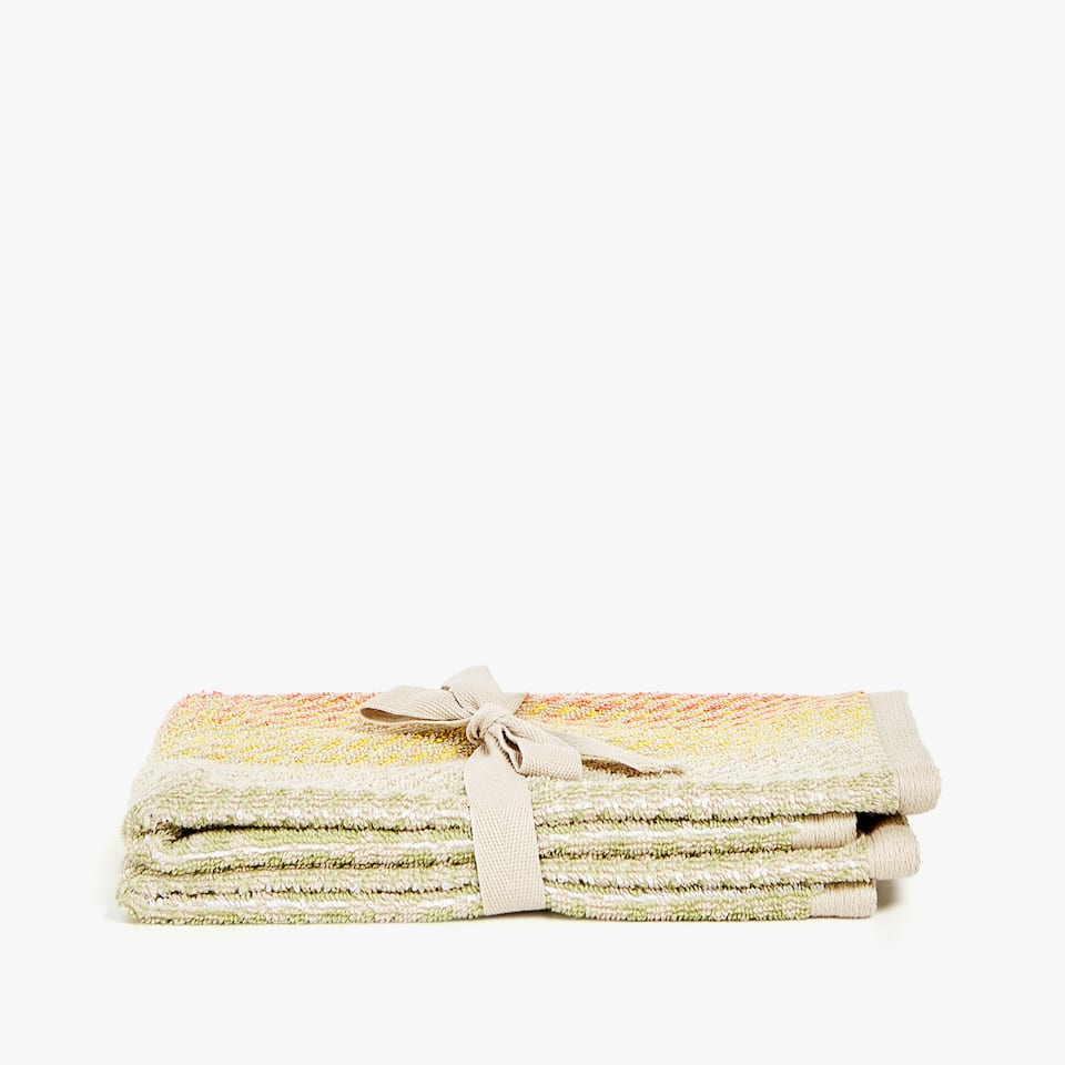 PAISLEY JACQUARD TOWEL (SET OF 2)