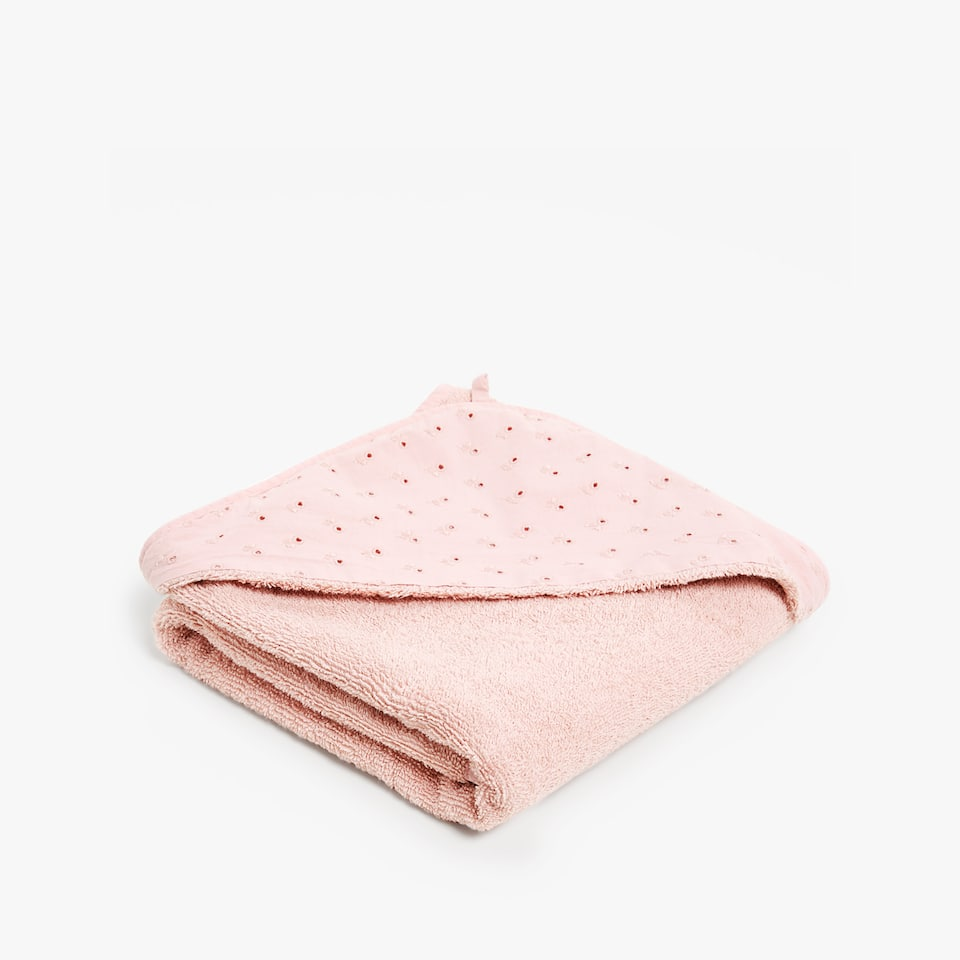 EMBROIDERED BABY TOWEL
