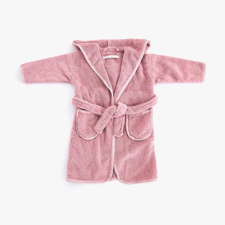 BABY COTTON BATHROBE