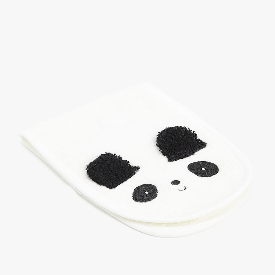PANDA BEAR BURP CLOTH