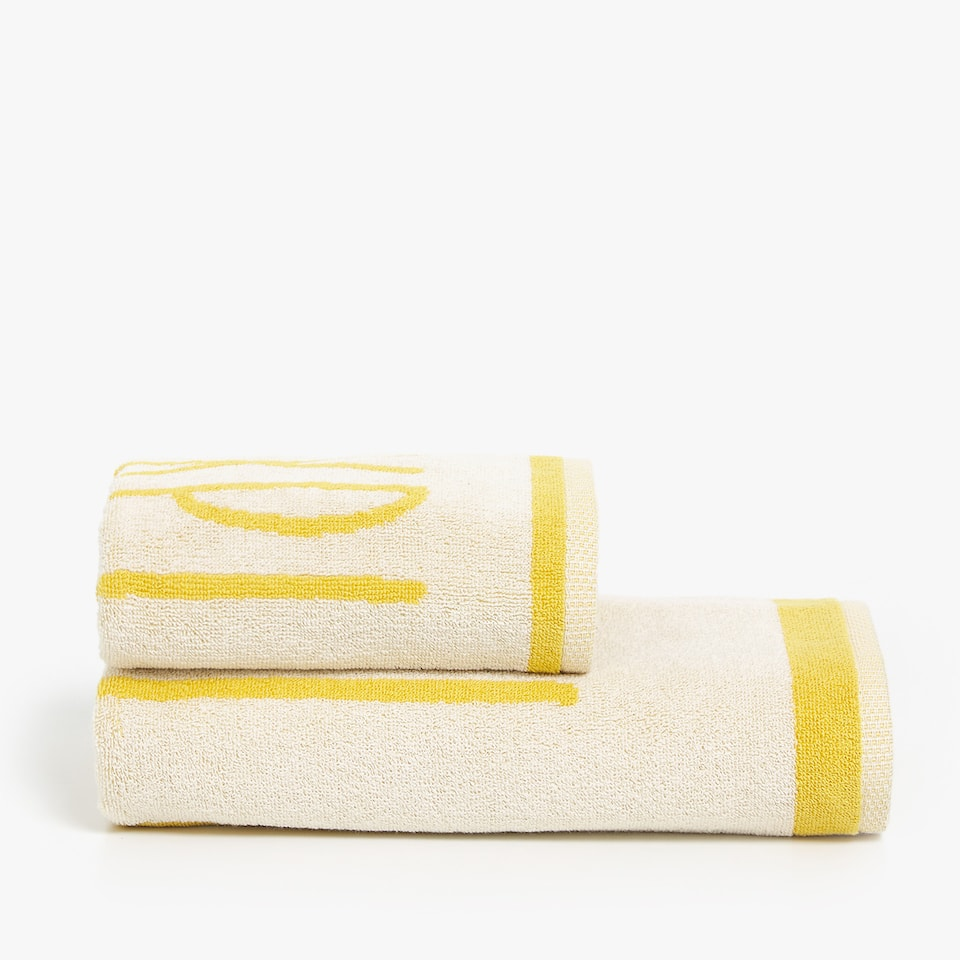 JACQUARD COTTON TOWEL