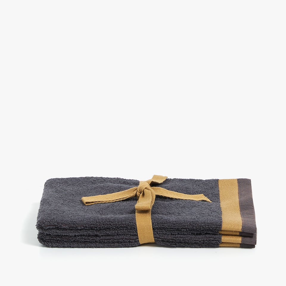 REVERSIBLE JACQUARD TOWEL (SET OF 2)