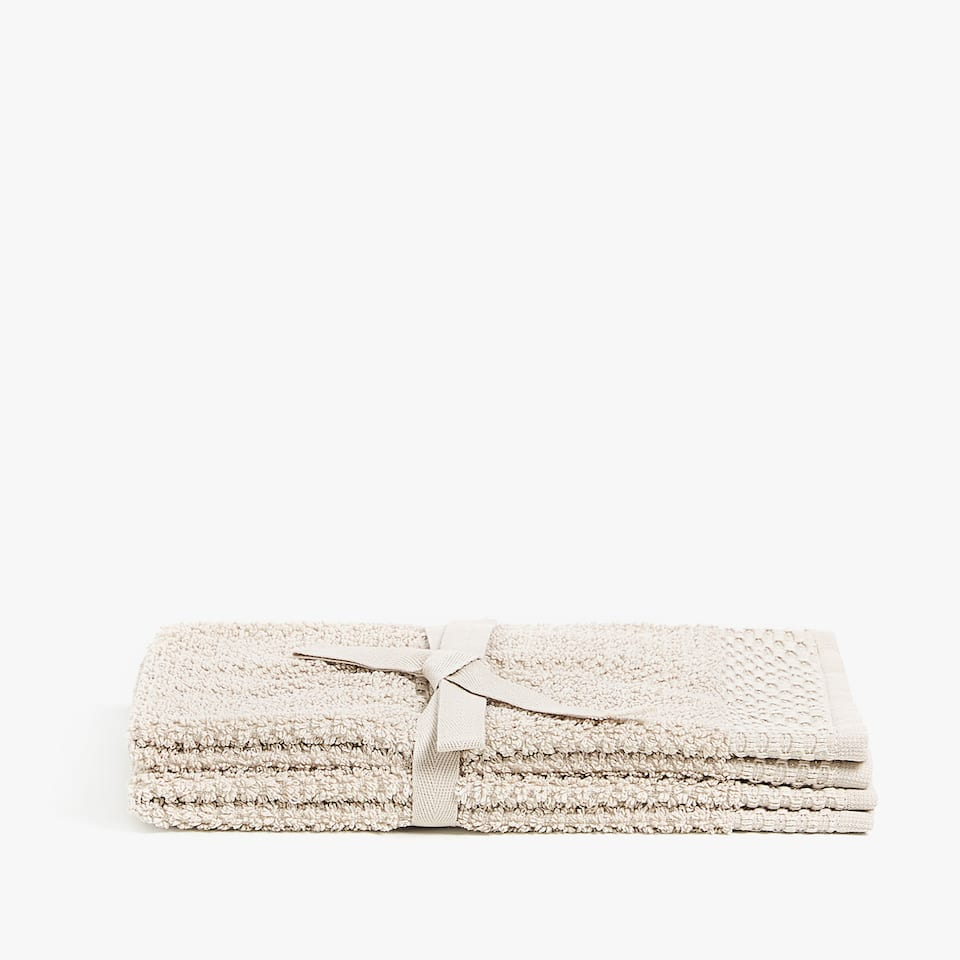 SHINY COTTON TOWEL (SET OF 2)