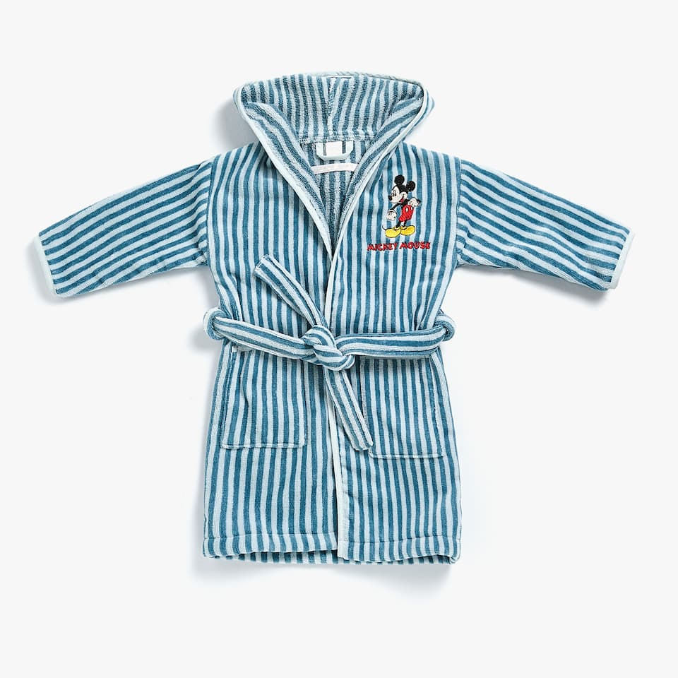 STRIPED BATHROBE