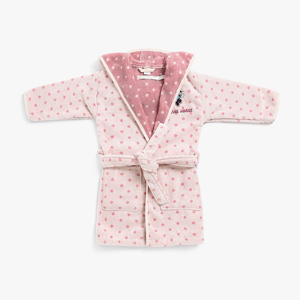 MINNIE MOUSE BABY BATHROBE