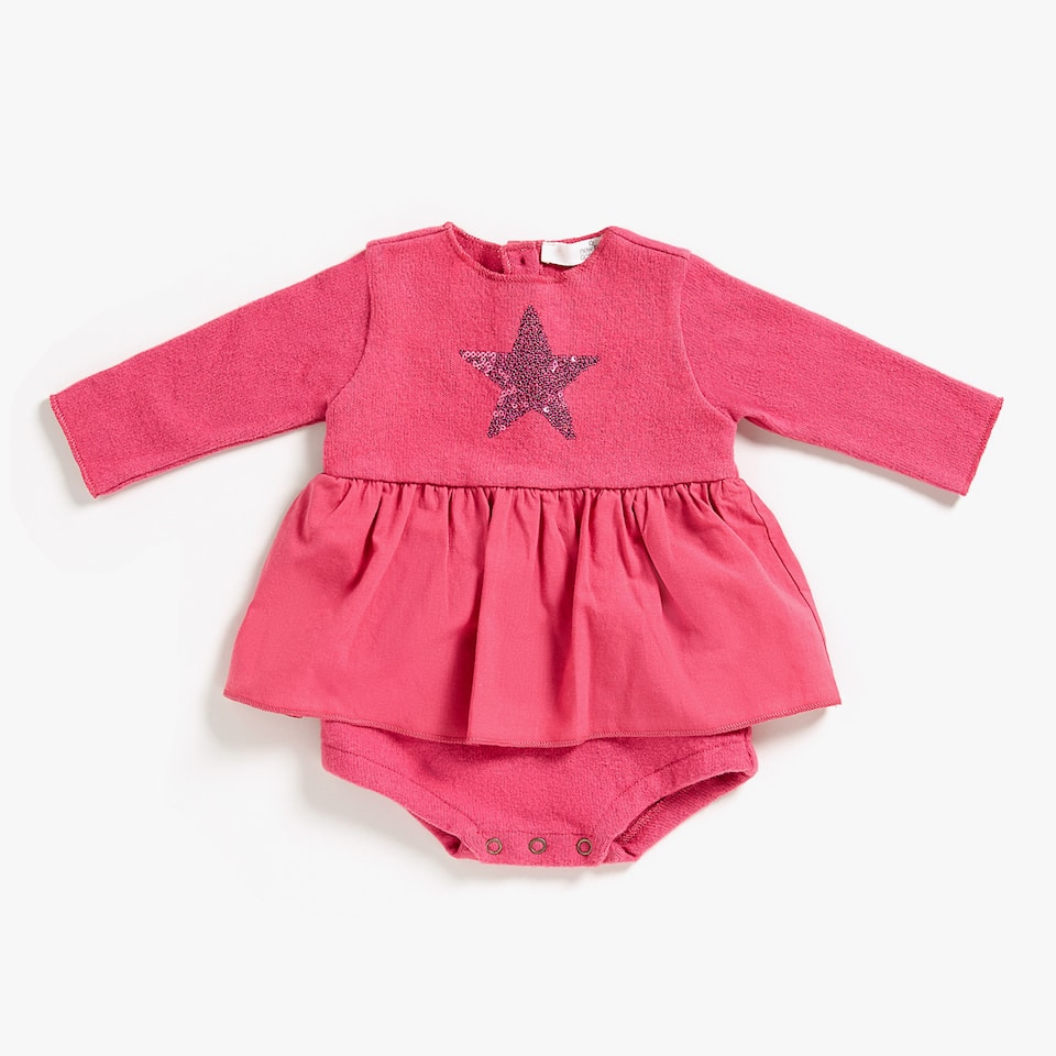 STAR EMBROIDERED ROMPER SUIT