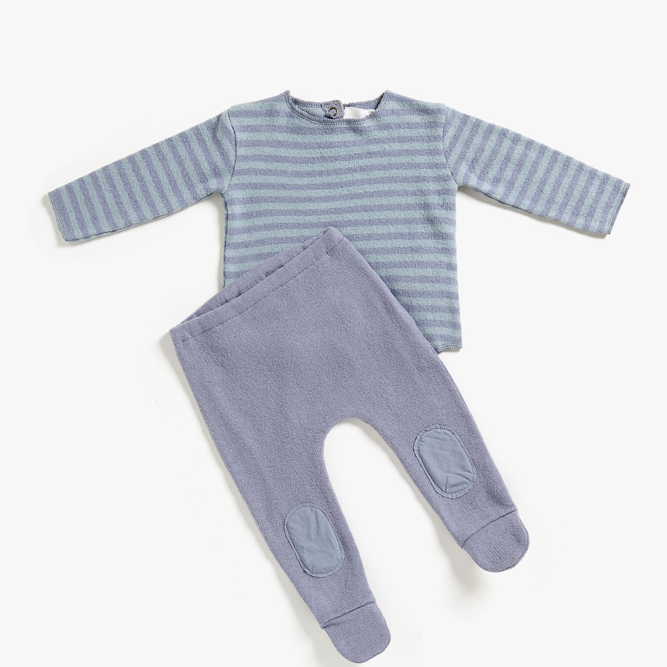 STRIPED BABY SET