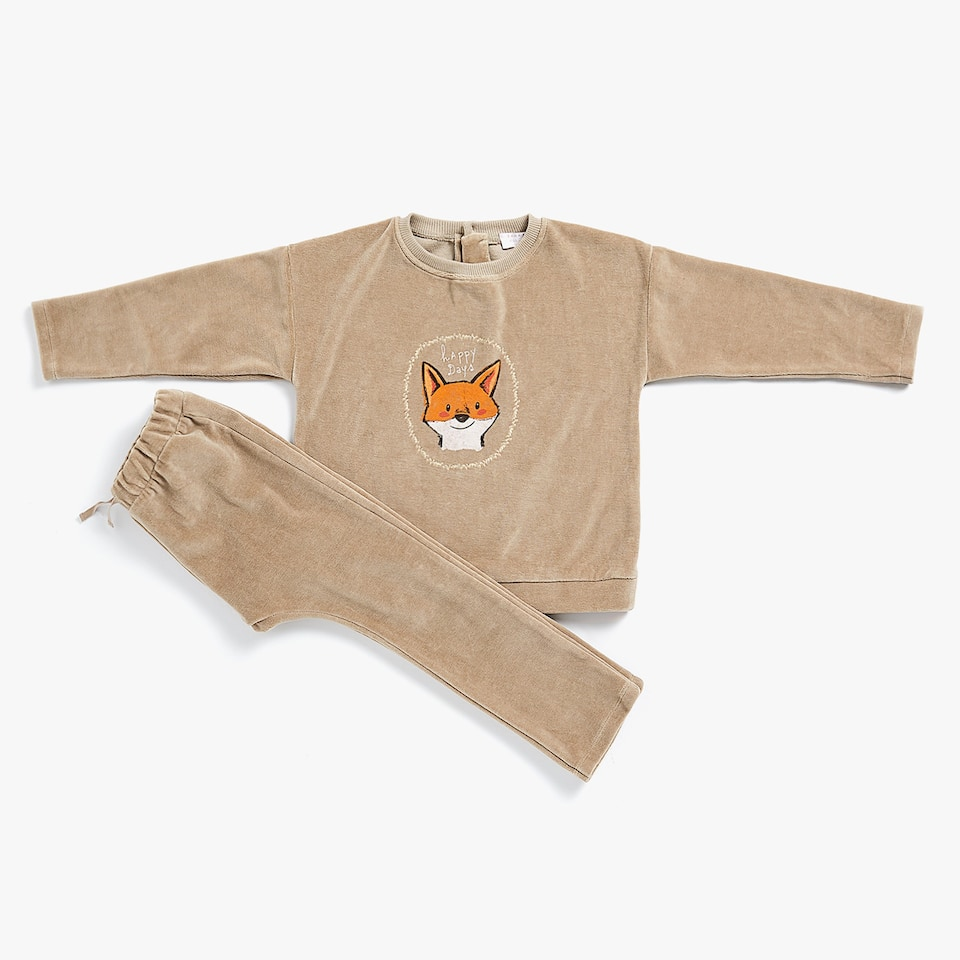 SWEAT VELOURS RENARD