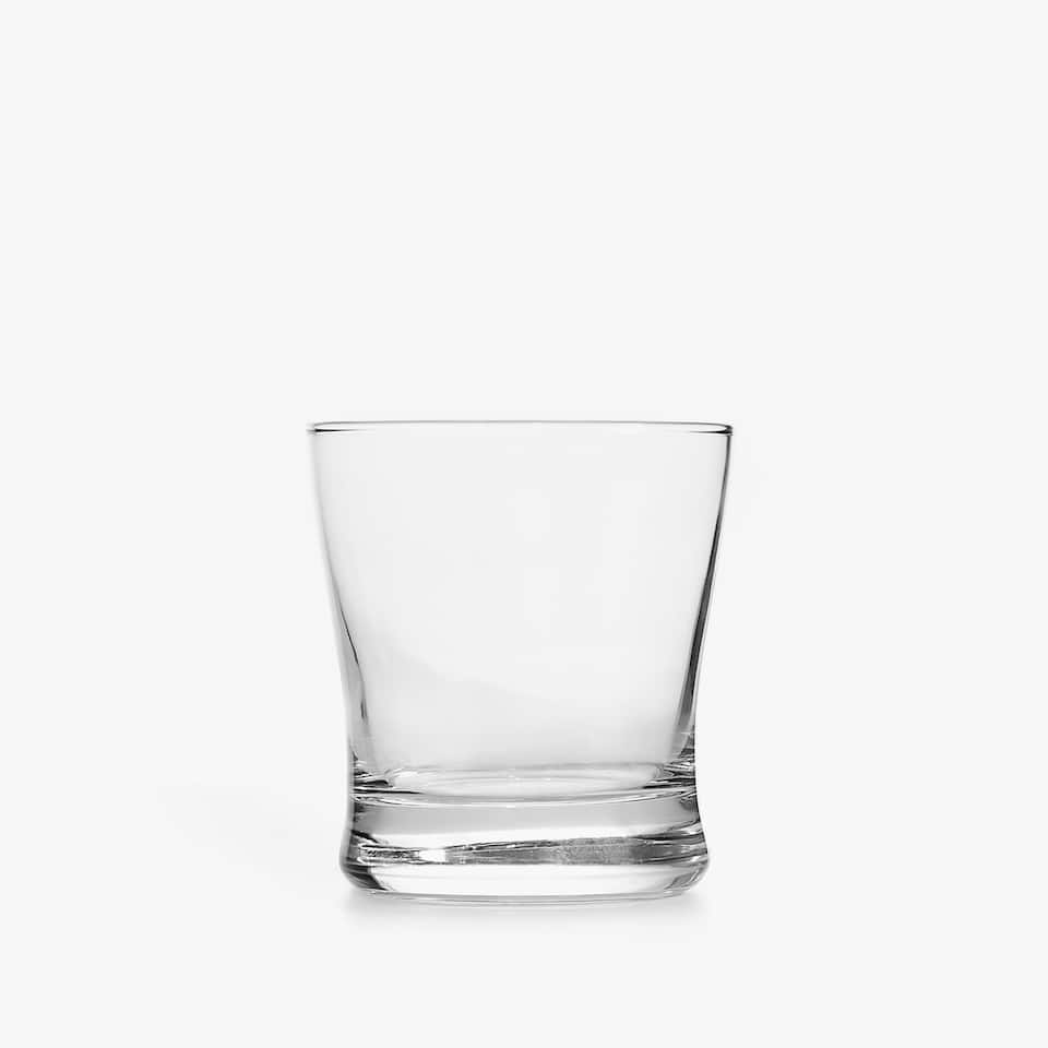 WATER GLASS WITH THICK BASE
