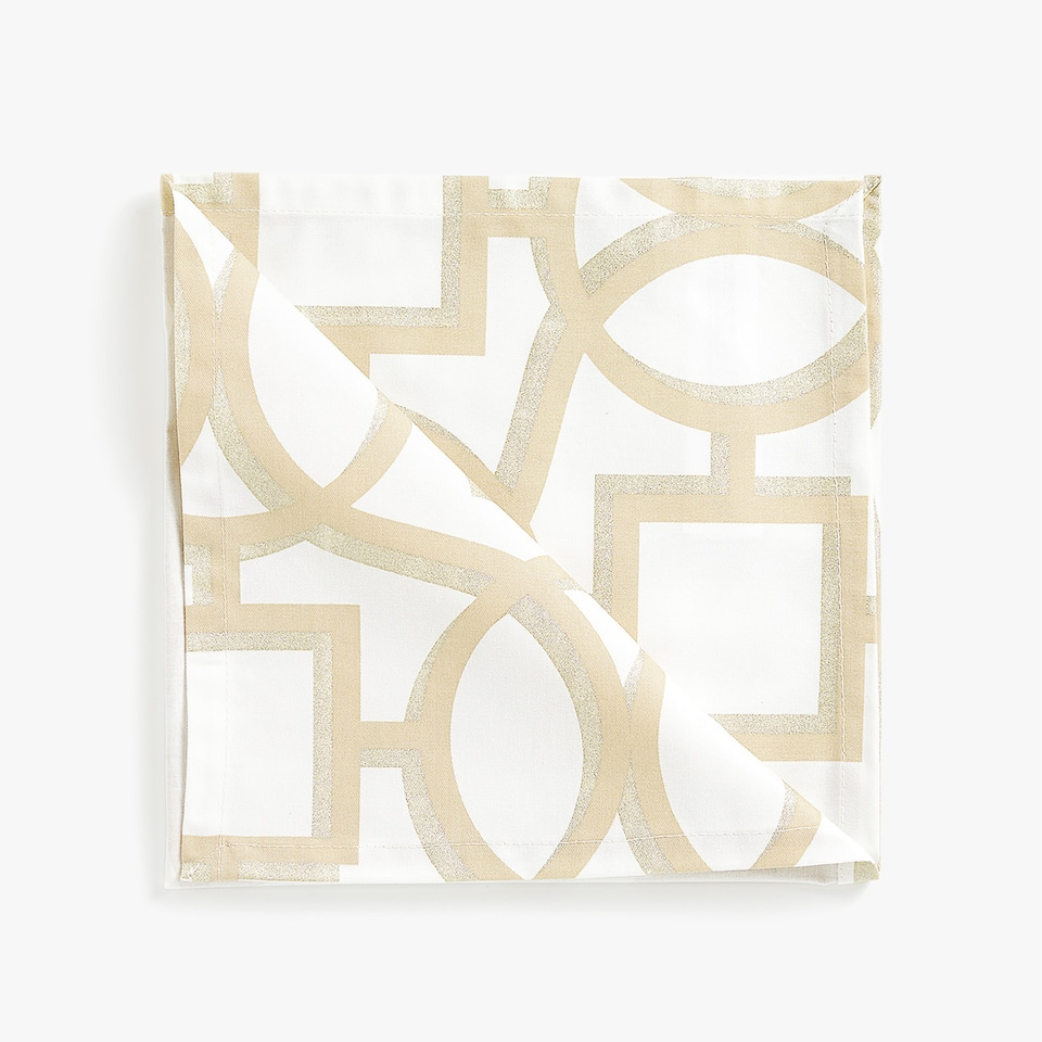 PRINTED NAPKIN (PACK OF 4)