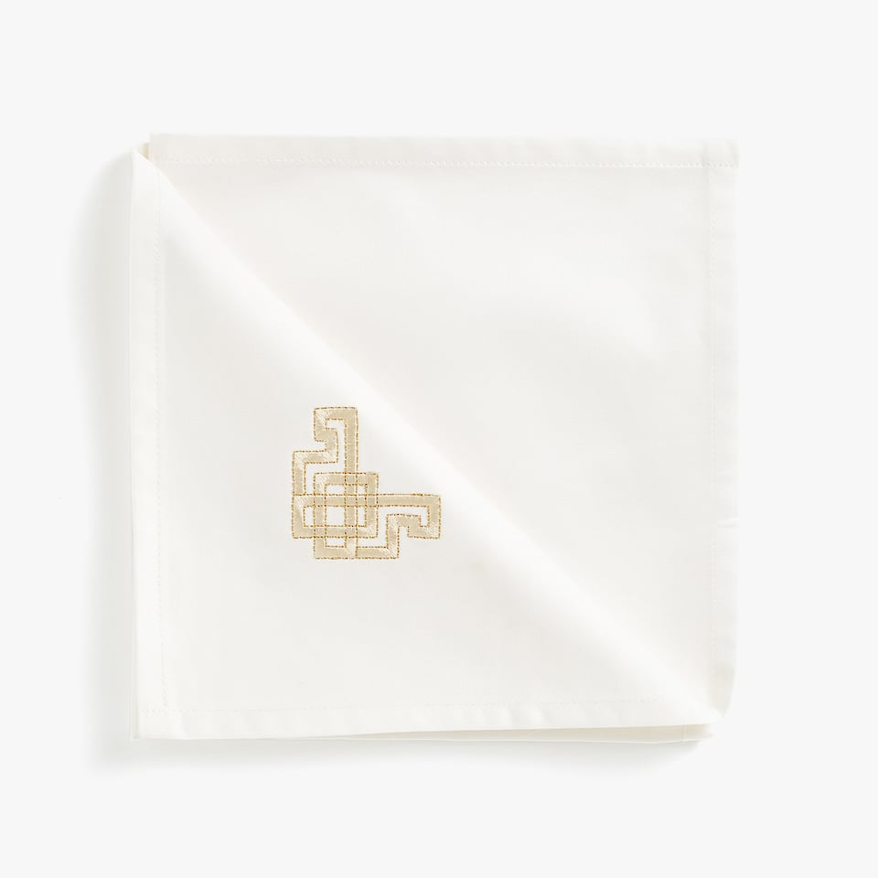 Embroidered napkins (set of 4)