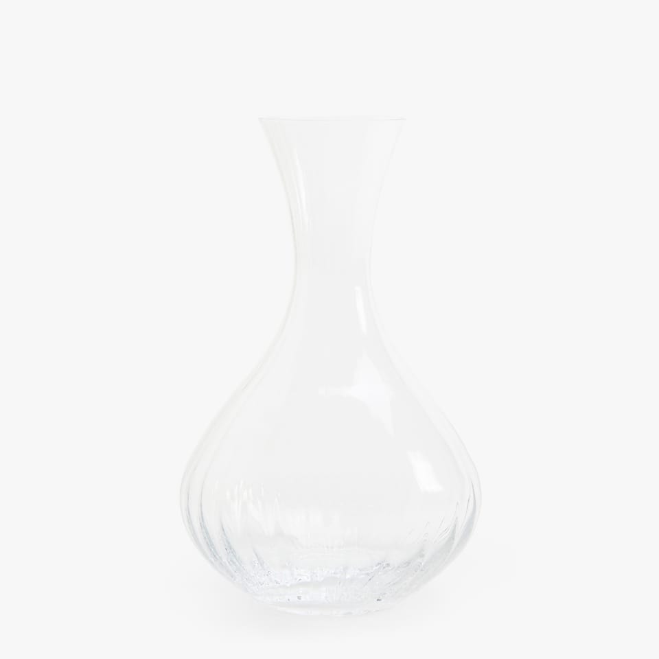 WAVY-EFFECT DECANTER