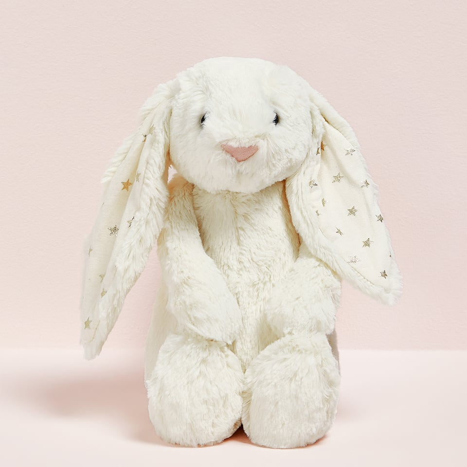 WHITE RABBIT PLUSH TOY