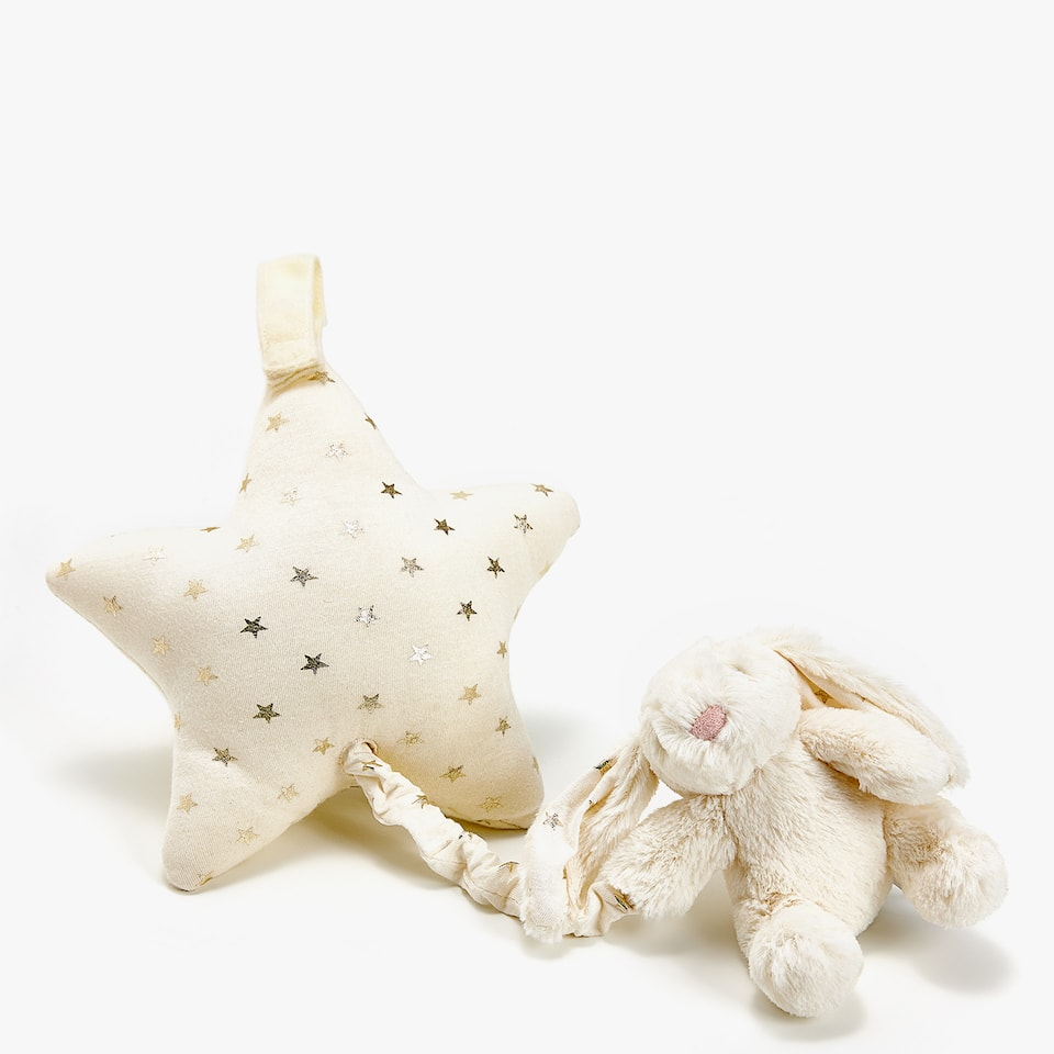 MUSICAL RABBIT SOFT TOY