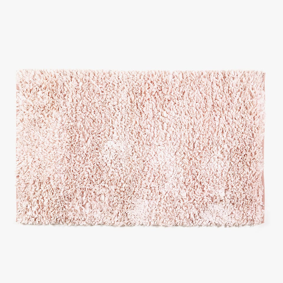 TAPIS SHAGGY ROSE