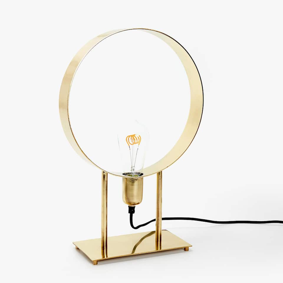 LAMPE STRUCTURE CIRCULAIRE