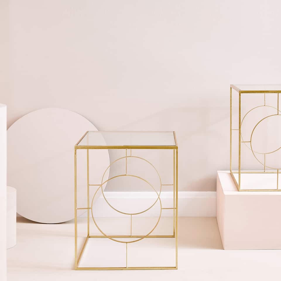 GOLD TABLE (SET OF 2)