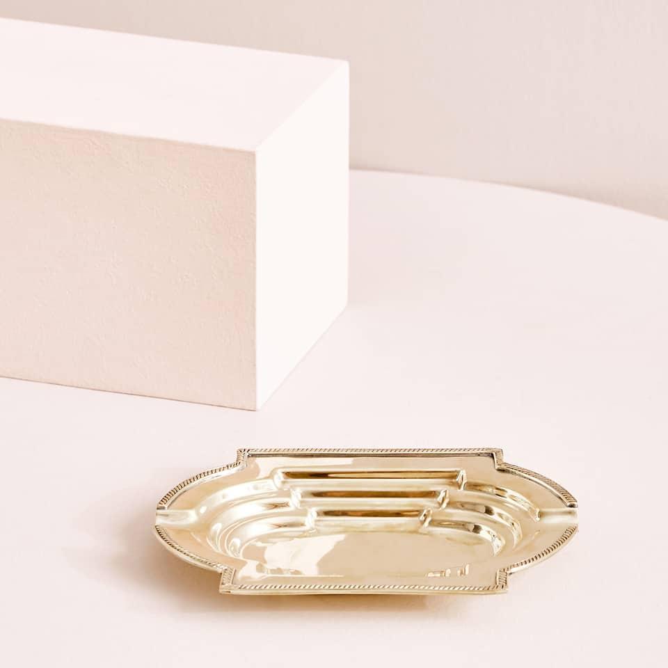 Golden methacrylate ashtray