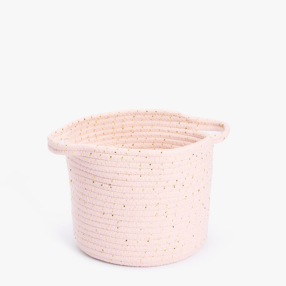 KIDS COTTON BASKET