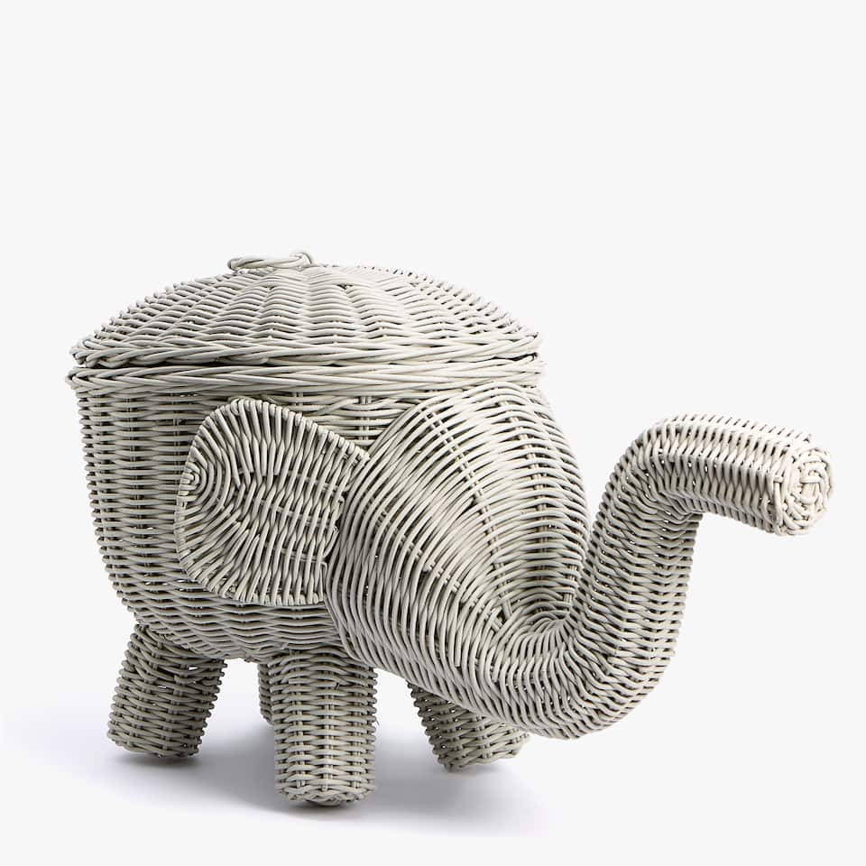 KIDS ELEPHANT BASKET