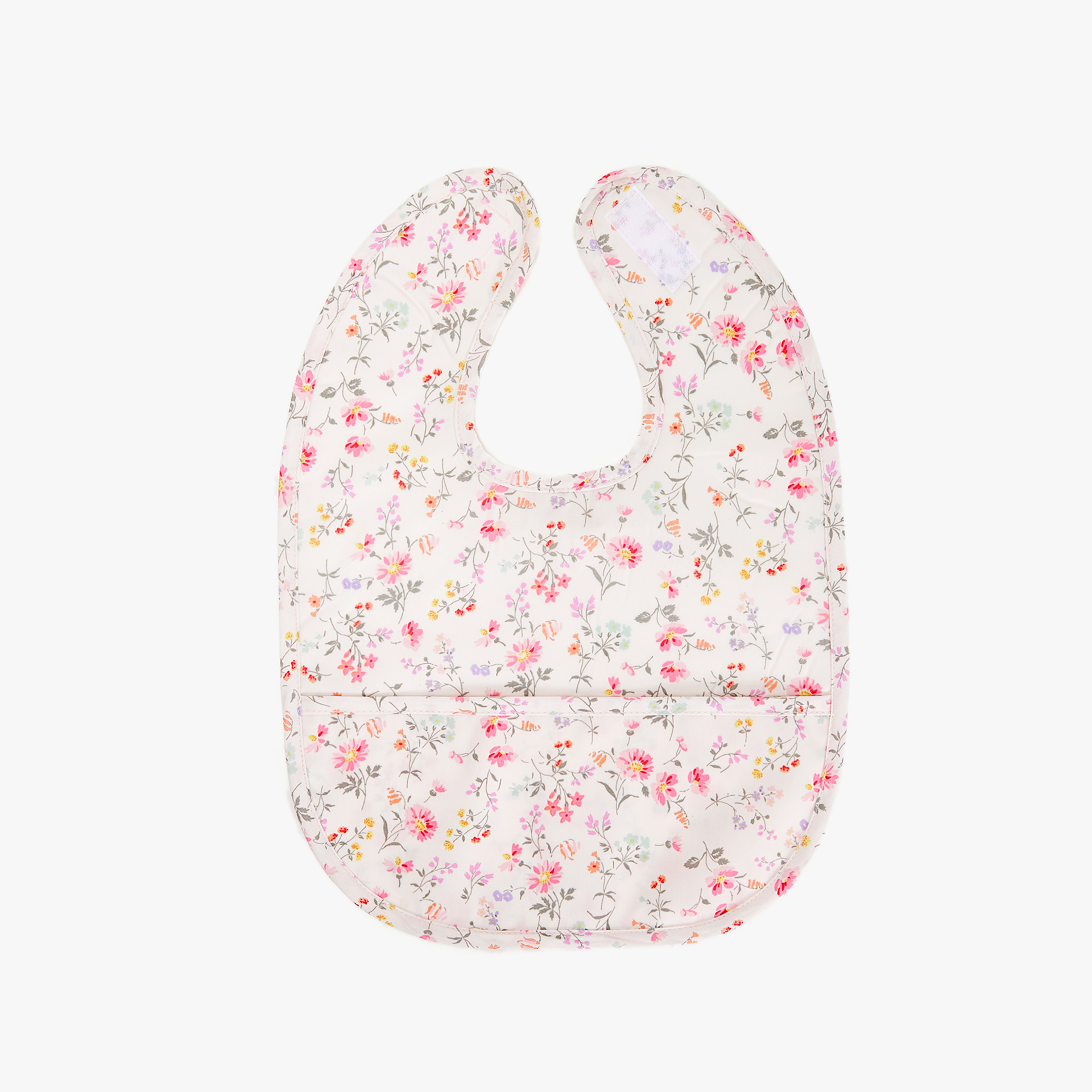 LAMINATED MINI FLOWER BIB
