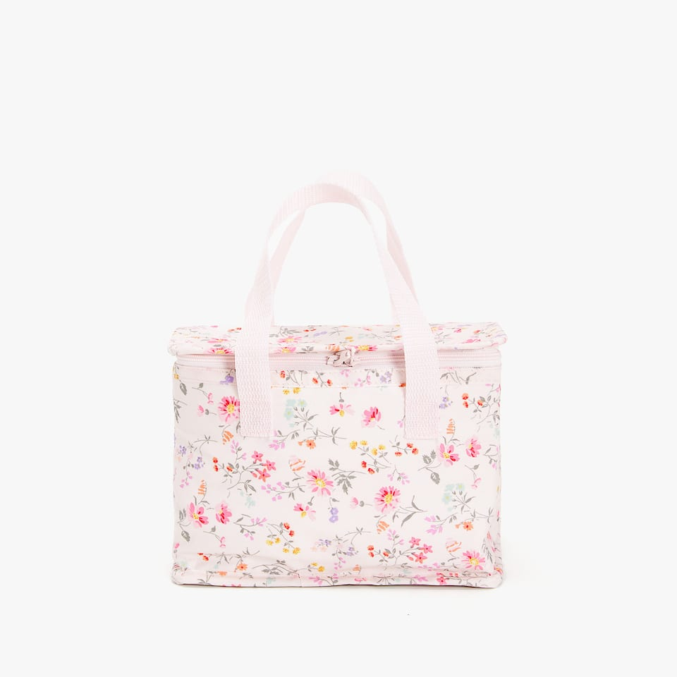 LAMINATED MINI FLOWER COOLER BAG