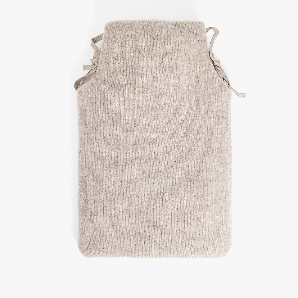CASHMERE HOT WATER BOTTLE