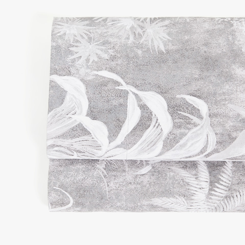 PALM TREE PRINT TOP SHEET