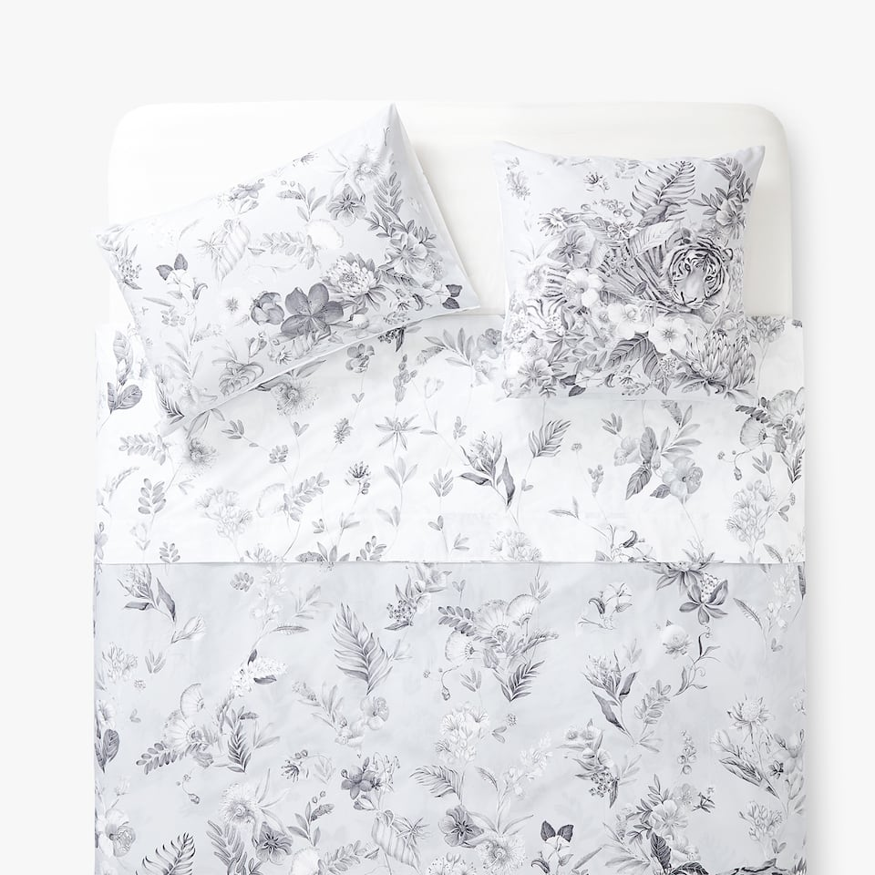JUNGLE PRINT DUVET COVER