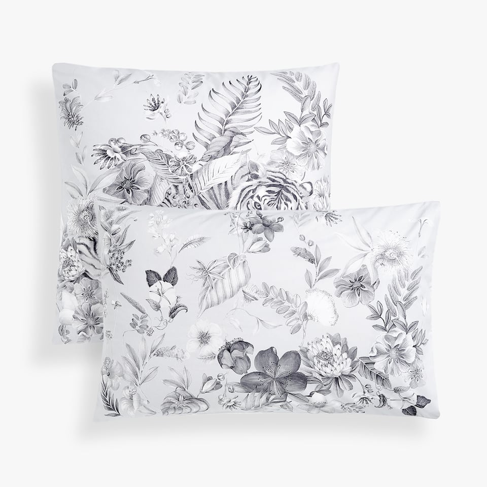 JUNGLE PRINT PILLOWCASE