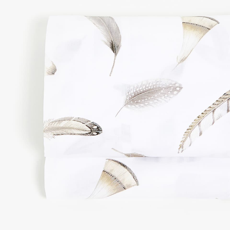 FEATHER PRINT FLAT SHEET
