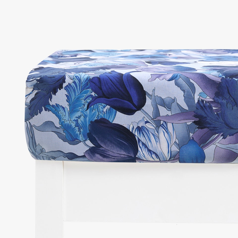 TULIP PRINT FITTED SHEET