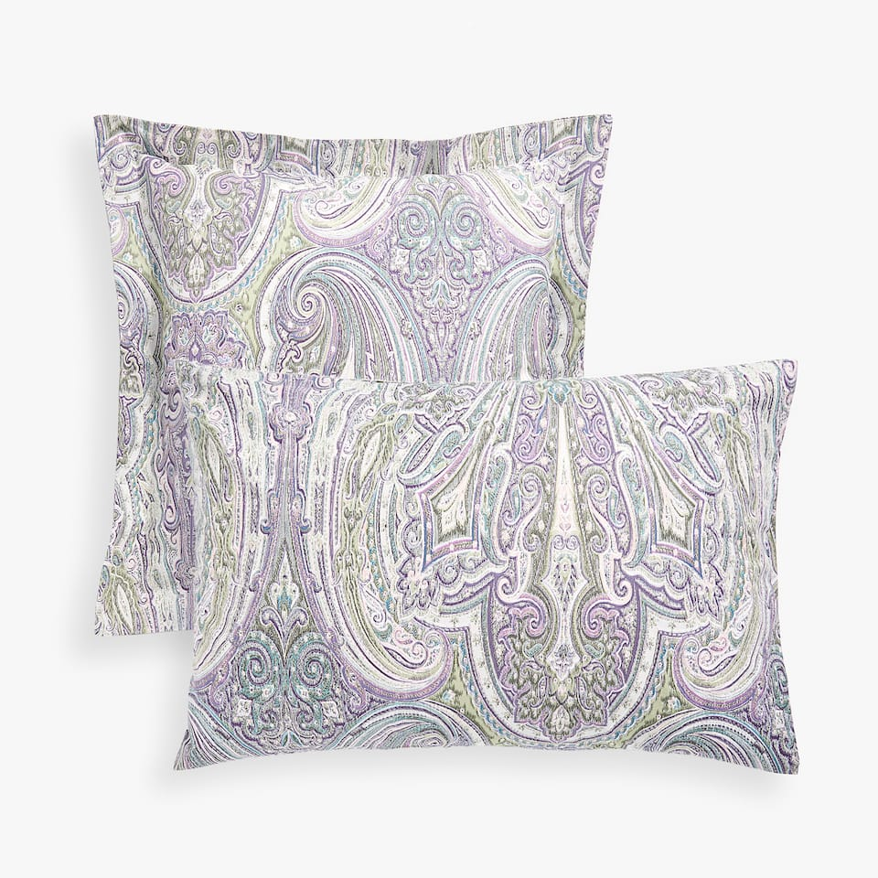 IKAT PAISLEY PILLOWCASE