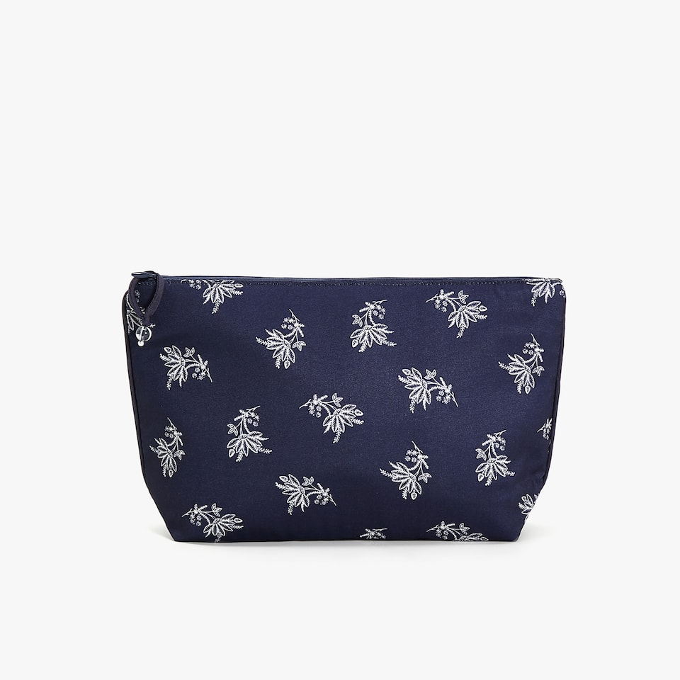 FLORAL TOILETRY BAG