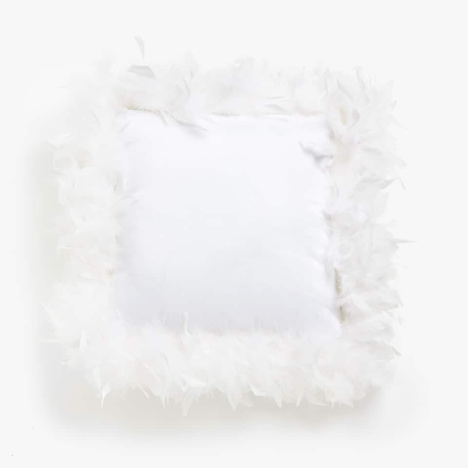 CUSHION WITH FEATHERS