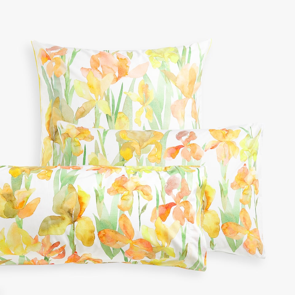 DAFFODIL PRINT PILLOWCASE
