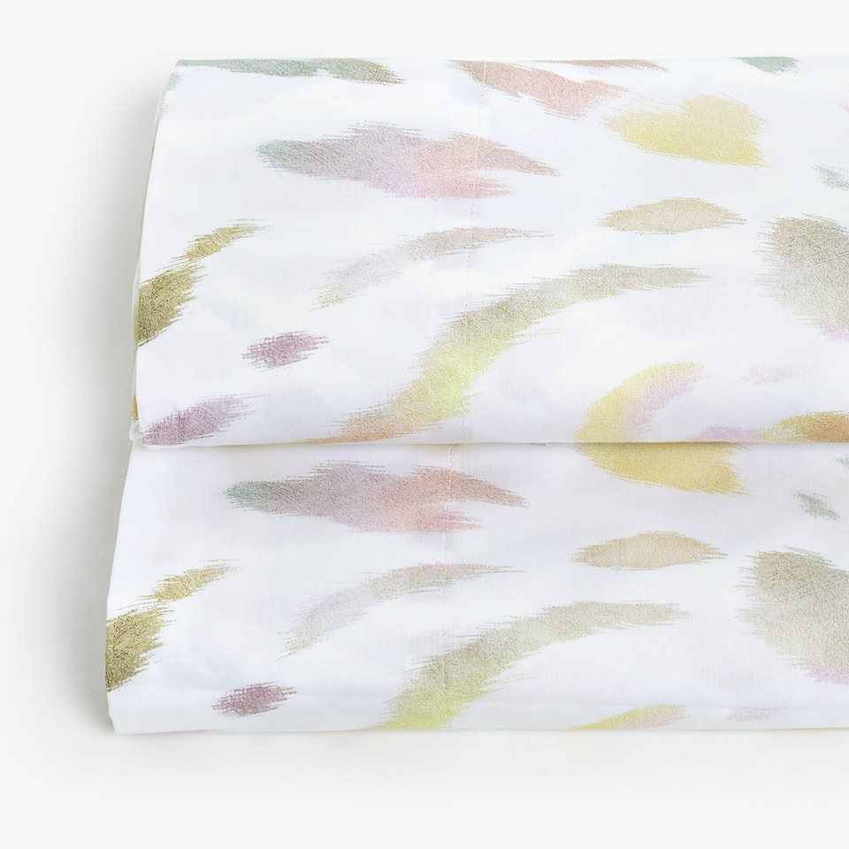 MULTICOLOURED ANIMAL PRINT FLAT SHEET