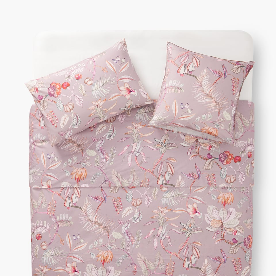 BRANCHES AND FLOWERS DUVET COVER